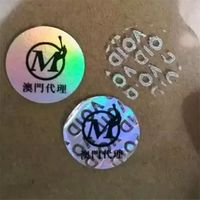 China Supplier Good Price High Quality Void Open Sticker Label