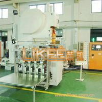 Disposable aluminum food container making machine