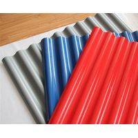 3 layers width1025mm corrugated upvc roofing tile for civil building