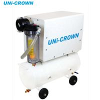 UN-300VT-CNC AC 220V electric oil-less CNC milling machine, vacuum system, vacuum pump for CNC thumbnail image