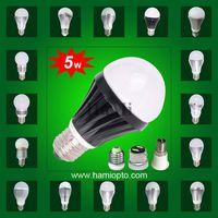 Led bulb lighting 5w