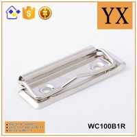 Fashion diary/planner metal clip for clipboard best selling 100mm metal clipboard clip