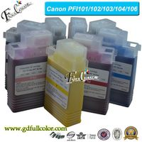 PFI 102 Compatible Ink Cartridge for Canon iPF500 iPF510 iPF600 iPF605 iPF610 iPF650 Printer