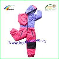 winter warm ski jacket&ski overall