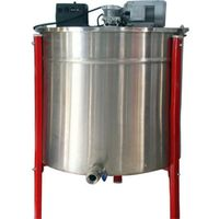 24 Frames stainless steel electric honery extractor wholesale/honey pressing machine