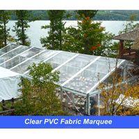 Clear PVC Fabic Marquee 10x20m