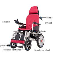 China lightweight foldable electric wheelchair wholesalers