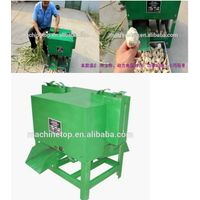 garlic cutting machine/garlic root cutting/fresh garlic root cutter