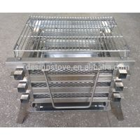 Stainless steel bbq charcoal grill made in China