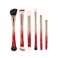 DOUBLE-END 6 PIECES BRUSH COLLECTION