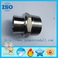 Stainless steel threading connecting end,Stainless steel threading connectors,SS304 thread ends thumbnail image