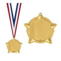 Wholesale Gold Silver Bronze Sports Medals Custom Medal thumbnail image