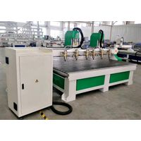 Multi function CA-1530 multi Heads 4 Axis CNC Router Wood Board sloting Machine for Hot selling