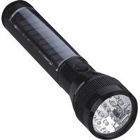 Multifuction Super Bright Solar Panel Rechargeable15 LED Aluminium Flashlight thumbnail image