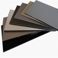 4mm PVDF acp / aluminum composite panel interior/exterior wall decorative materials
