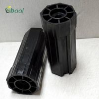 Plastic end cap for 60mm octagonal tube