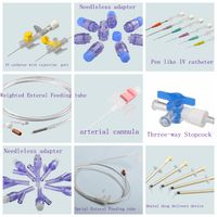 Medical Consumables manufacturer enteral feeding tube arterial cannula catheter