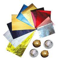 Chocolate aluminum foil packaging