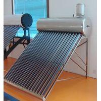 Pre-heated solar hot water heaters