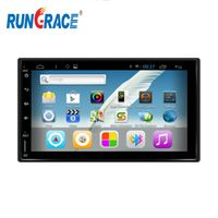 7 inch universal touch screen car dvd with android system with mirror link,gps map,HD screen