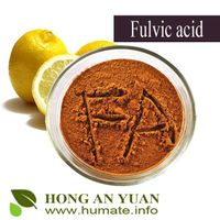 100%water soluble fulvic acid powder