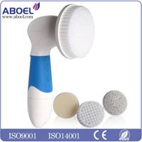Skin Cleansing FACE and BODY BRUSH Microdermabrasion Exfoliator System - Pore Minimizer - Acne Spots