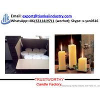 decorative paraffin pillar candles wax thumbnail image