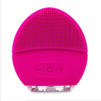 OEM Silica Gel Factory Facial Brush Massager Face Cleansing Brush