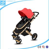 best Shopping basket underneath multifunctional design waterproof baby stroller
