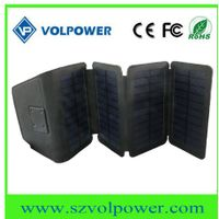 Factory Price Wallet Size 5V 6W Foldable Solar Panel Charger for Mobile Phone thumbnail image