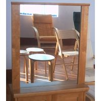 RIO Bathroom Set: bath mirror, wall mirror, bathroom set, wooden furniture, solid wood furniture