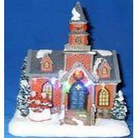 christmas led church