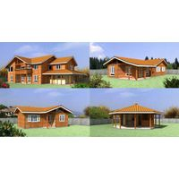 Pre fabricated wooden house thumbnail image
