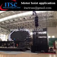 Eletronic chain hoist application in gymnasium concert events thumbnail image