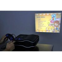 HD DVD LED Projector 800x600 pixels with USB Game Port TV Tuner 110-220v support for TV Laptop PC