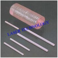 high qality nd: yag laser crystal rod for machine