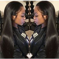 Brazilian Hair,human Virgin hair,hair wig,Peruvian hair thumbnail image
