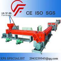 Sell Single Screw XPS Production Line, XPS foam board production line thumbnail image