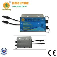 200w-300w IP67 waterproof designed communicatin surpport grid tie micro inverter , for 60cells panel thumbnail image