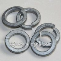 stainless steel DIN127 spring washer