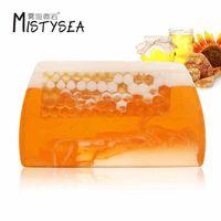 Hot SellHot selling beehive essential oil handmade soap 110g/pcs for Bulk buying, Wholesale, OEM / O thumbnail image