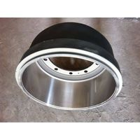 brake drum and hub for BPW