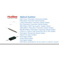 OPTICAL ISOLATOR/FIBER OPTIC ISOLATOR/SINGLE STAGE ISOLATOR/DUAL STAGE ISOLATOR/HIGH POWER ISOLATOR