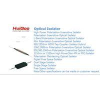 OPTICAL ISOLATOR/FIBER OPTIC ISOLATOR/SINGLE STAGE ISOLATOR/DUAL STAGE ISOLATOR/HIGH POWER ISOLATOR
