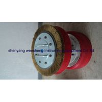 polyurethane ( PU ) CUP pipe pig with steel brush