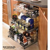 Kitchen Cabinet Pull out mesh basket