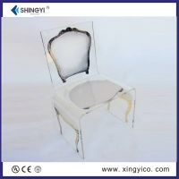 plexiglass game chair
