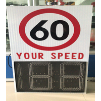 Radar speed limited sign,solar street seed limited sign thumbnail image