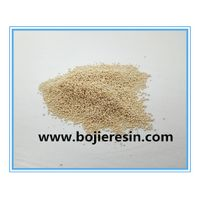 Ion exchange resin for silver extraction