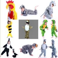 Animal Onesies Kids Unisex Kigurumi Cosplay Costume Pyjamas Pajamas Low price thumbnail image